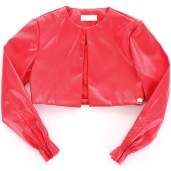 vaatteet Tytöt Nahkatakit / Tekonahkatakit Byblos Blu BJ14994 Rosso