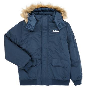 vaatteet Pojat Pusakka Redskins JKT-480400 Laivastonsininen