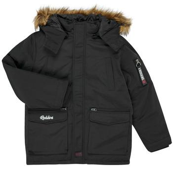 vaatteet Pojat Parkatakki Redskins REF-48105 Black