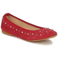 kengät Naiset Balleriinat Meline LUSON Punainen