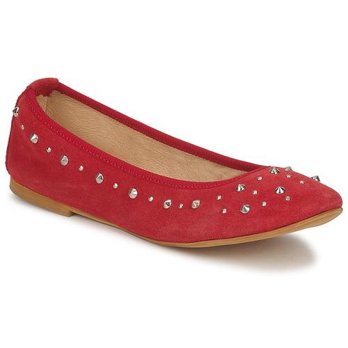 kengät Naiset Balleriinat Meline LUSON Red