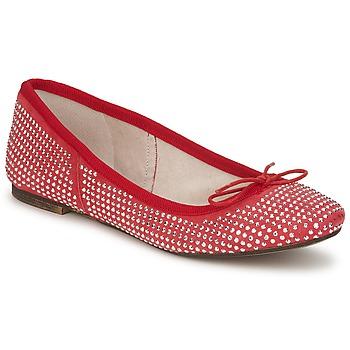 kengät Naiset Balleriinat Meline BALDE ROCK Red