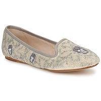kengät Naiset Mokkasiinit House of Harlow 1960 ZENITH Beige / Harmaa