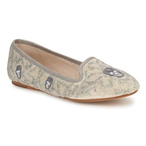 kengät Naiset Mokkasiinit House of Harlow 1960 ZENITH Beige / Grey