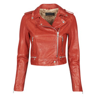 vaatteet Naiset Nahkatakit / Tekonahkatakit Oakwood KYOTO Red