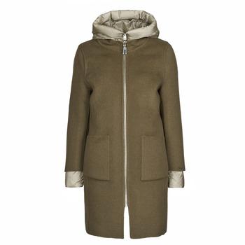 vaatteet Naiset Paksu takki Oakwood LILIANA BI Kaki / Beige / Taupe