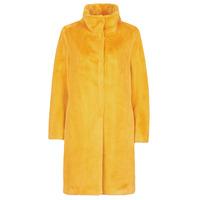 vaatteet Naiset Paksu takki S.Oliver 05-009-52 Keltainen