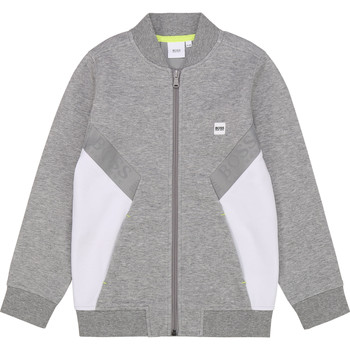 vaatteet Pojat Svetari BOSS J25G80 Grey