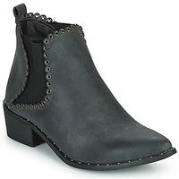kengät Naiset Nilkkurit Spot on F50939 Musta