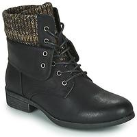 kengät Naiset Bootsit Spot on F50613 Musta