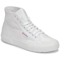 kengät Naiset Korkeavartiset tennarit Superga 2295 COTW White