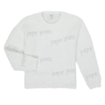 vaatteet Tytöt Neulepusero Pepe jeans AUDREY White