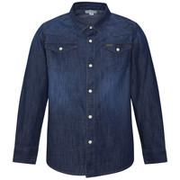 vaatteet Pojat Pitkähihainen paitapusero Pepe jeans JHON Sininen