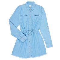 vaatteet Tytöt Lyhyt mekko Pepe jeans ZOEY Sininen
