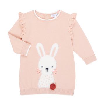 vaatteet Tytöt Lyhyt mekko Absorba 9R30092-312-B Pink