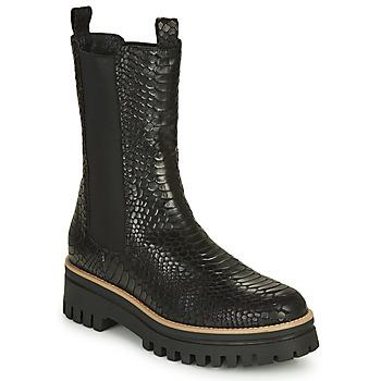 kengät Naiset Bootsit Sweet Lemon POLIRA Musta
