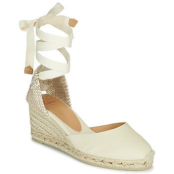 kengät Naiset Sandaalit ja avokkaat Castaner CARINA Ivory