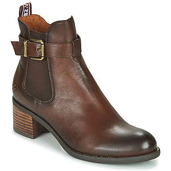 kengät Naiset Nilkkurit Mam'Zelle LOPEZ Brown