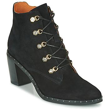 kengät Naiset Nilkkurit Mam'Zelle NECLA Musta