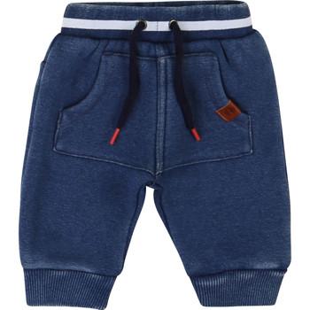 vaatteet Pojat 5-taskuiset housut Timberland T94736 Sininen