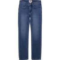 vaatteet Pojat Slim-farkut Timberland T24B15 Sininen