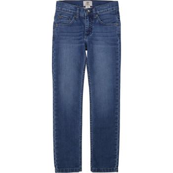 vaatteet Pojat Slim-farkut Timberland T24B15 Blue