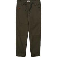 vaatteet Pojat 5-taskuiset housut Timberland T24B11 Khaki