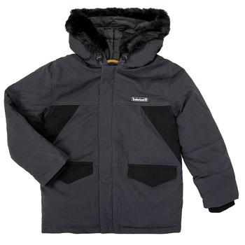 vaatteet Pojat Parkatakki Timberland T26525 Grey