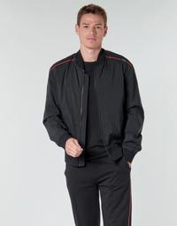 vaatteet Miehet Pusakka HUGO BRUCE2031 Black