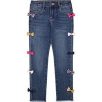 vaatteet Tytöt Slim-farkut Billieblush / Billybandit U14406 Blue