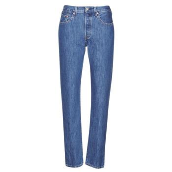vaatteet Naiset Boyfriend-farkut Levi's 501 CROP Sansome
