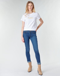 vaatteet Naiset Skinny-farkut Levi's 711 SKINNY Bogota / Life