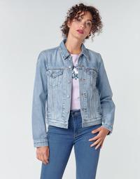 vaatteet Naiset Farkkutakki Levi's ORIGINAL TRUCKER All / Mine
