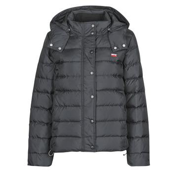 vaatteet Naiset Toppatakki Levi's CORE DOWN PUFFER Musta / sininen / punainen