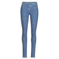 vaatteet Naiset Skinny-farkut Levi's 720 HIRISE SUPER SKINNY Blue