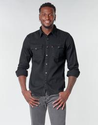 vaatteet Miehet Pitkähihainen paitapusero Levi's BARSTOW WESTERN STANDARD Black