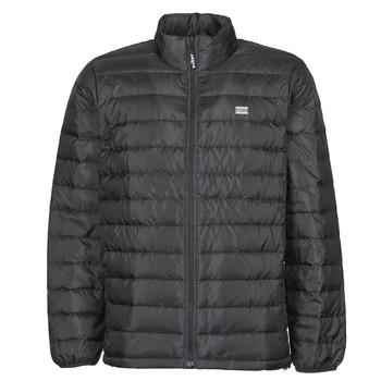 vaatteet Miehet Toppatakki Levi's PRESIDIO PACKABLE JACKET Musta-valkoraidallinen / Musta