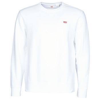 vaatteet Miehet Svetari Levi's NEW ORIGINAL CREW Valkoinen