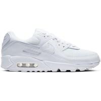 kengät Naiset Matalavartiset tennarit Nike W Air Max 90 Valkoiset