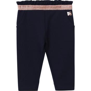 vaatteet Tytöt 5-taskuiset housut Carrément Beau Y94194 Sininen