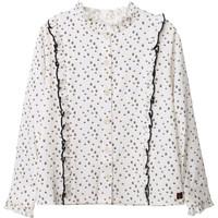 vaatteet Tytöt Topit / Puserot Carrément Beau Y15356 White