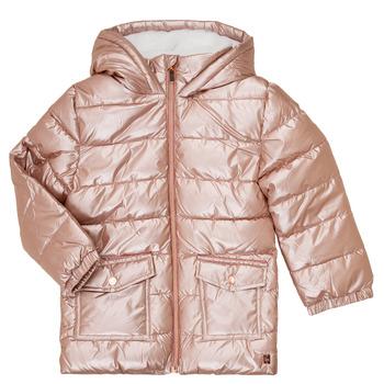 vaatteet Tytöt Toppatakki Carrément Beau Y16085 Vaaleanpunainen