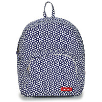laukut Lapset Reput Bakker Made With Love BACKPACK MINI CANVAS Blue