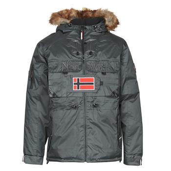 vaatteet Miehet Parkatakki Geographical Norway BENCH Harmaa / Tumma