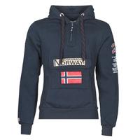 vaatteet Miehet Svetari Geographical Norway GYMCLASS Laivastonsininen