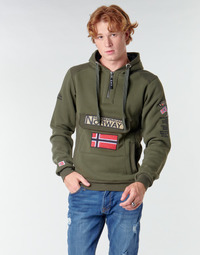 vaatteet Miehet Svetari Geographical Norway GYMCLASS Khaki