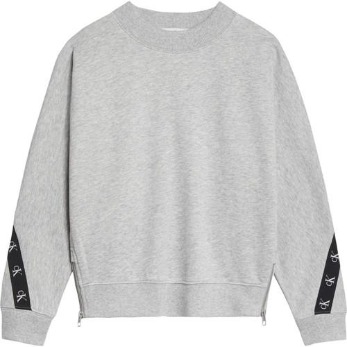vaatteet Tytöt Svetari Calvin Klein Jeans IG0IG00687-PZ2 Harmaa