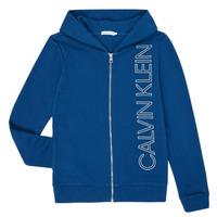 vaatteet Pojat Svetari Calvin Klein Jeans IB0IB00668-C5G Blue