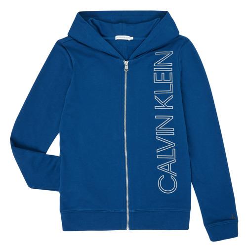 vaatteet Pojat Svetari Calvin Klein Jeans IB0IB00668-C5G Sininen