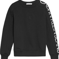 vaatteet Tytöt Svetari Calvin Klein Jeans IG0IG00691-BEH Musta